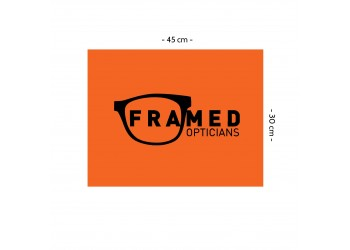 FRAMED Lens Cloth - Large